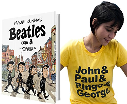 9788562885556: Combo. The Beatles ( Camiseta