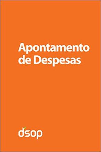 9788563680242: Apontamento De Despesas - Livro De Bolso - Laranja (Em Portuguese do Brasil)