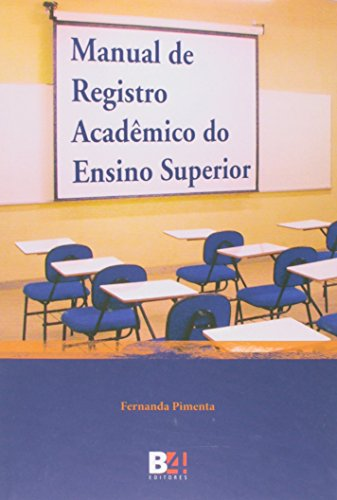 9788565358743: Manual de Registro Academico do Ensino Superior