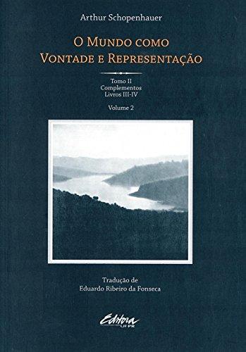 9788565888837: Mundo Como Vontade e Representacao, O - Vol.2 - Tomo 2