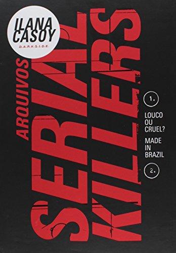 9788566636307: Box Arquivos Serial Killers: Louco ou Cruel? - Made in Brazil