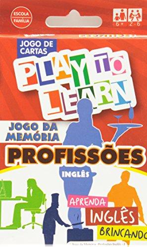 9788568286036: Jogo da Memoria: Profissoes Ingles - Jogo de Cartas - Aprenda Ingles Brincando