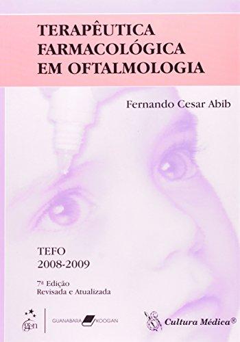 9788570064356: Terapêutica Farmacológica em Oftalmologia (Em Portuguese do Brasil)