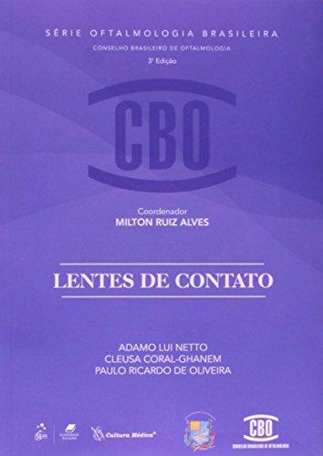 9788570066237: Lentes de Contato - Coleção CBO. Série Oftalmologia Brasileira (Em Portuguese do Brasil)