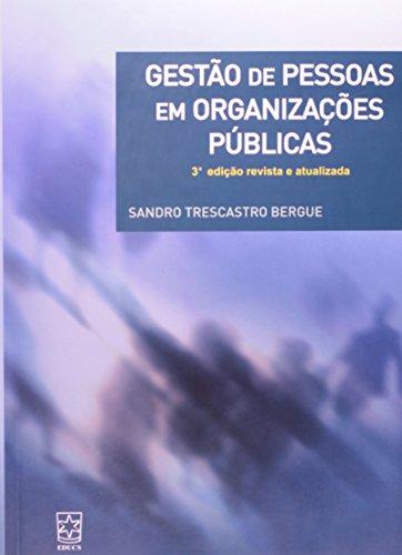 9788570615800: Gestao de Pessoas em Organizacoes Publicas