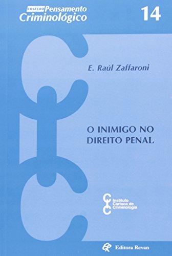 9788571063587: Inimigo No Direito Penal - Coleção Pensamento Criminológico (Em Portuguese do Brasil)