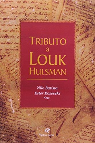9788571064256: Tributo a Louk Hulsman