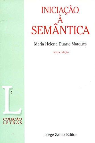 9788571100862: Iniciação À Semântica. Coleção Letras (Em Portuguese do Brasil)