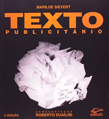 9788571141469: TEXTO PUBLICITARIO: DICAS NAO SAO RECEITAS