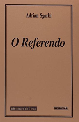 9788571471283: Referendo, O
