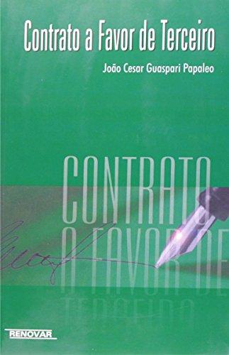 9788571472037: Contrato a favor de terceiro (Portuguese Edition)