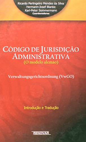9788571477193: Codigo de Jurisdicao Administrativa: O Modelo Alemao