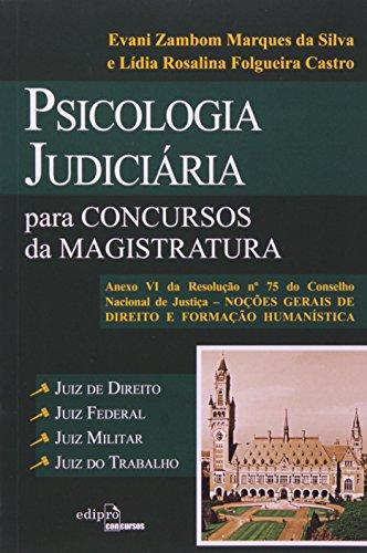9788572837644: Psicologia Judiciaria Para Concursos da Magistratura