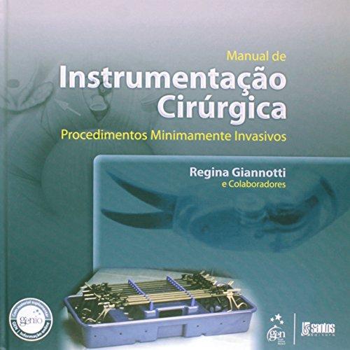 9788572888820: Manual De Instrumentaçao Cirurgica - Procedimentos Minimamente Invasivos (Em Portuguese do Brasil)