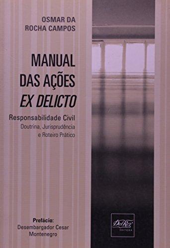 9788573089790: Manual das Ações Ex Delicto (Em Portuguese do Brasil)