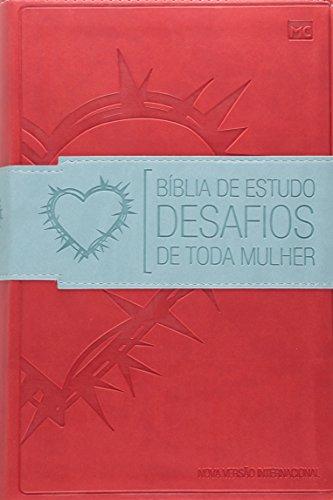 9788573259766: Bíblia de Estudo Desafios de Toda Mulher - Vermelha (Português)