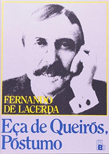 Eça De Queirós. Póstumas (Em Portuguese do: Fernando de Lacerda