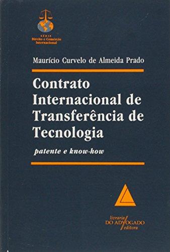 9788573480238: Contrato Internacional de Transferência de Tecnologia (Em Portuguese do Brasil)