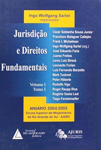 9788573484038: Jurisdicao E Direitos Fundamentais Volume 1 Tomo I