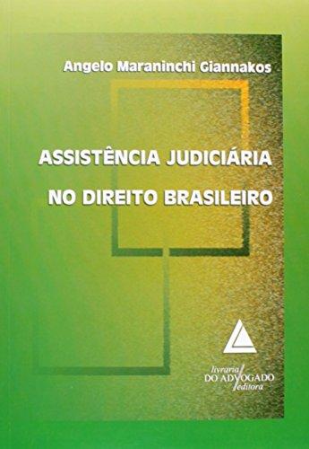 9788573485271: Assistencia Judiciaria no Direito Brasileiro