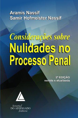 9788573488159: Consideracoes Sobre Nulidades no Processo Penal