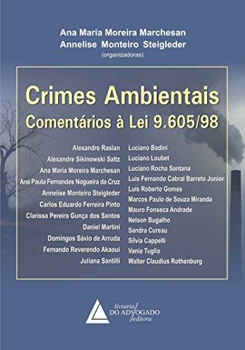 9788573488692: Crimes Ambientais: Comentarios a Lei 9.605-98