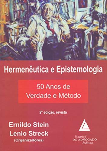 9788573489286: Hermeneutica e Epistemologia