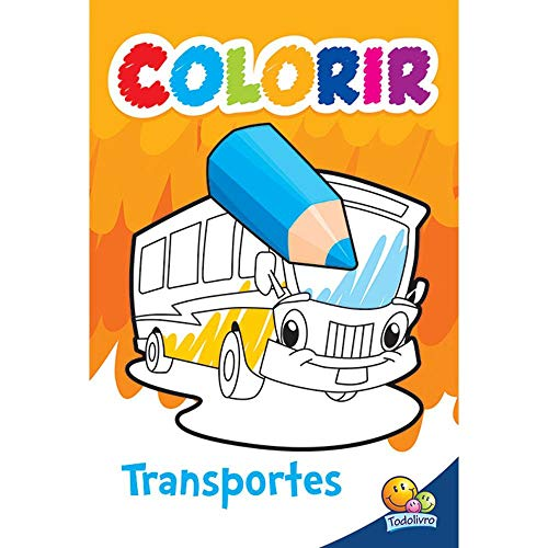 Colorir. Transportes (Paperback): Varios Autores