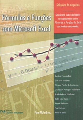 9788573933765: Fórmulas e Funções com Microsoft Excel