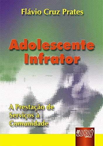 9788573948899: Adolescente Infrator. A Prestação de Serviços a Comunidade (Em Portuguese do Brasil)