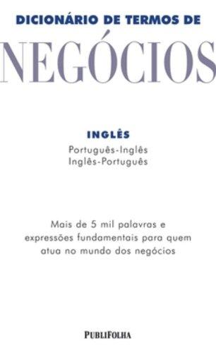 9788574026428: Dicionário de Termos de Negócios - Inglês