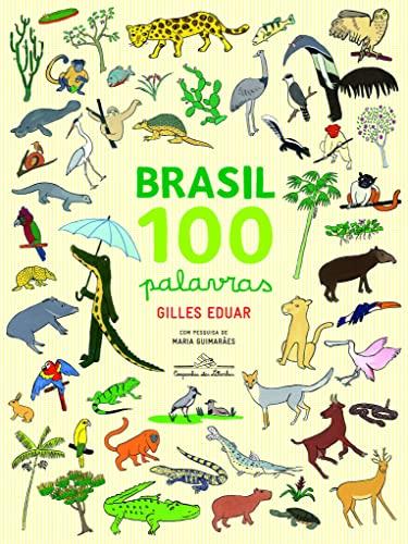 9788574066226: Brasil: 100 Palavras (Em Portugues do Brasil)