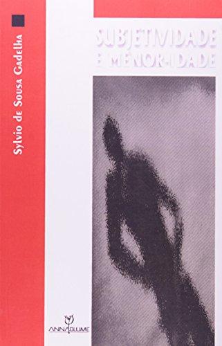 9788574190228: Subjetividade e menor-idade: Acompanhando o devir dos profissionais do social (Coleção Outros diálogos) (Portuguese Edition)