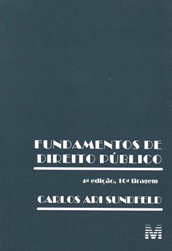 9788574201702: Fundamentos De Direito Publico (Em Portuguese do Brasil)