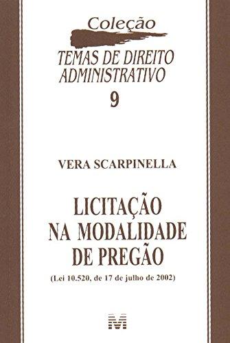 9788574205427: Licitação Na Modalidade De Pregão (Em Portuguese do Brasil)