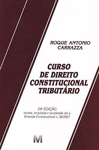 9788574208787: Curso De Direito Constitucional Tributário (Em Portuguese do Brasil)