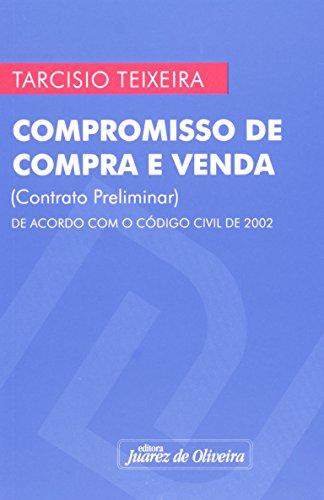 9788574536309: Compromisso de Compra e Venda - Contrato Preliminar