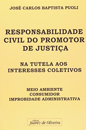 9788574536415: RESPONSABILIDADE CIVIL DO PROMOTOR DE JUSTICA