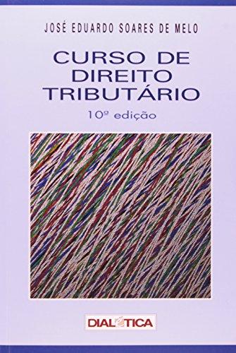 9788575002308: Curso de Direito Tributario