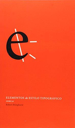 9788575033937: Elementos do Estilo Tipográfico