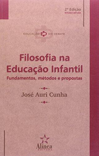 9788575160336: Filosofia na Educação Infantil: Fundamentos, Métodos e Propostas