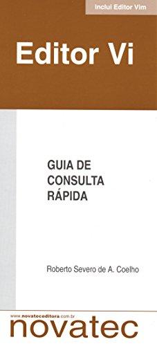 9788575220276: Editor Vi: Guia de Consulta Rápida