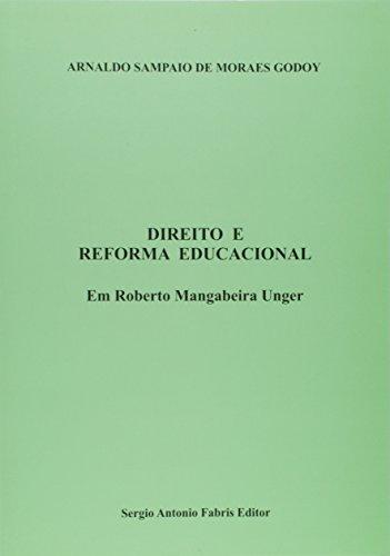 Direito e reforma educacional : em Roberto: Godoy, Arnaldo Sampaio