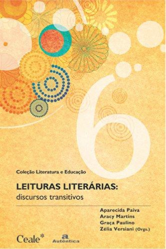 9788575261750: Leituras Literárias. Discursos Transitivos (Em Portuguese do Brasil)