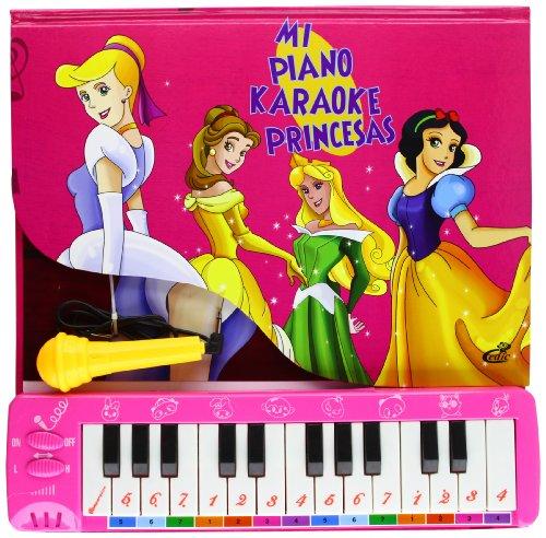 9788575309049: Mi Piano. Karaoke. Princesas