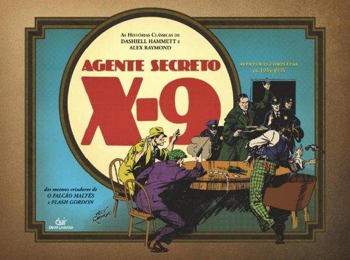 9788575324608: Agente Secreto X-9 (Em Portuguese do Brasil)