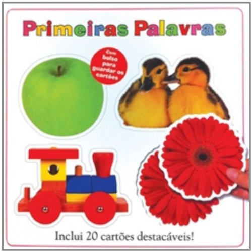 9788575424490: Primeiras Palavras - First Words (Em Portugues do Brasil)