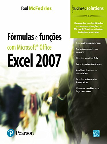 9788576051947: Fórmulas e Funções com Microsoft Office Excel 2007 (Em Portuguese do Brasil)