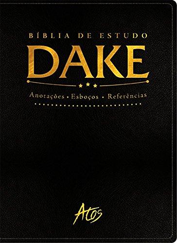 9788576071358: Bíblia de Estudo Dake. Preta Clássica