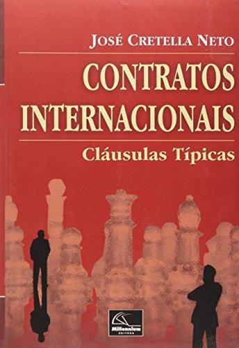 9788576252412: Contratos Internacionais: Claausulas Taipicas